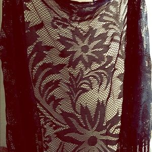 Accessories - Beautiful & Classy, Lace Scarf!